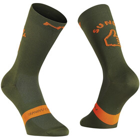 Northwave Sunday Monday Socks green forest